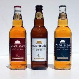 Shropshire Hills Catering provide mobile bars stocked with Oldfields ciders