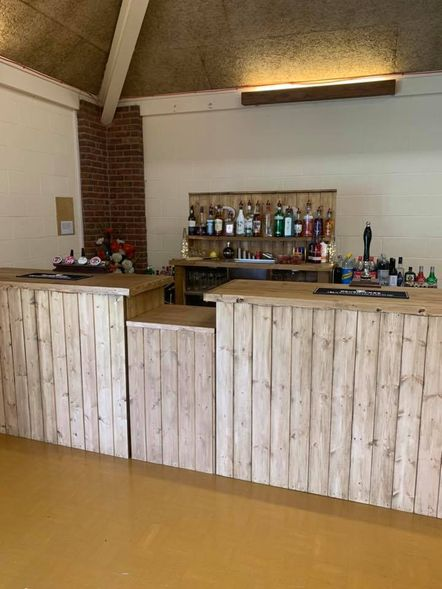 Shropshire Hills Catering Outside/Mobile Bar hire