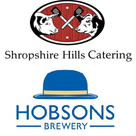 Shropshire Hills Catering provide mobile bars stocked with beers from Hobsons Brewery