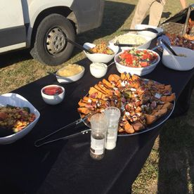 Shropshire Hills Catering Outdoor Catering salads selection