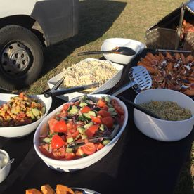 Shropshire Hills Catering Mobile Outdoor Catering salad options
