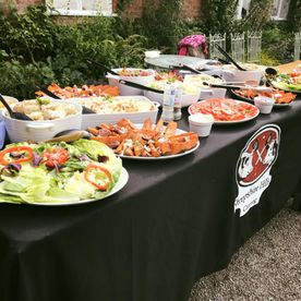 Shropshire Hills Catering outdoor catering for bbq's and parties