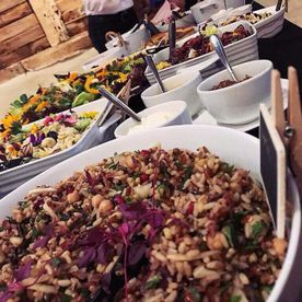 Shropshire Hills Catering event catering salads selection