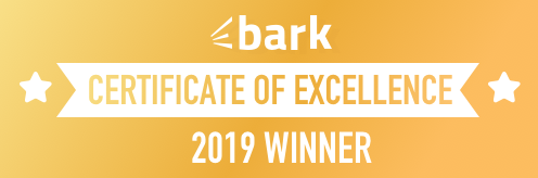 Shropshire Hills Catering Bark Certificate of Excellence Winner 2019
