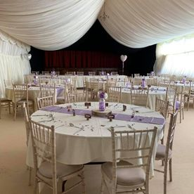 Shropshire Hills Catering wedding catering at Clun Memorial Hall 20072019