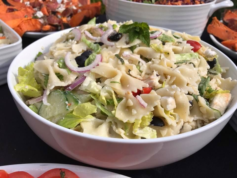 Shropshire Hills Catering homemade pasta salad