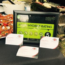 Shropshire Hills Catering 5 Star Food Hygiene Rating
