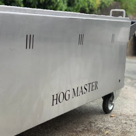 Shropshire Hills Catering The HogMaster mobile hog roasting oven