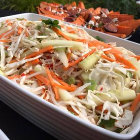 Shropshire Hills Catering homemade traditional coleslaw