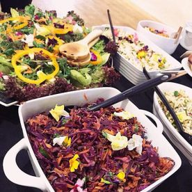 Shropshire Hills Catering homemade mixed salads