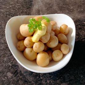 Shropshire Hills Catering boiled New Potatoes