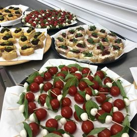 Shropshire Hills Catering entrees and starters