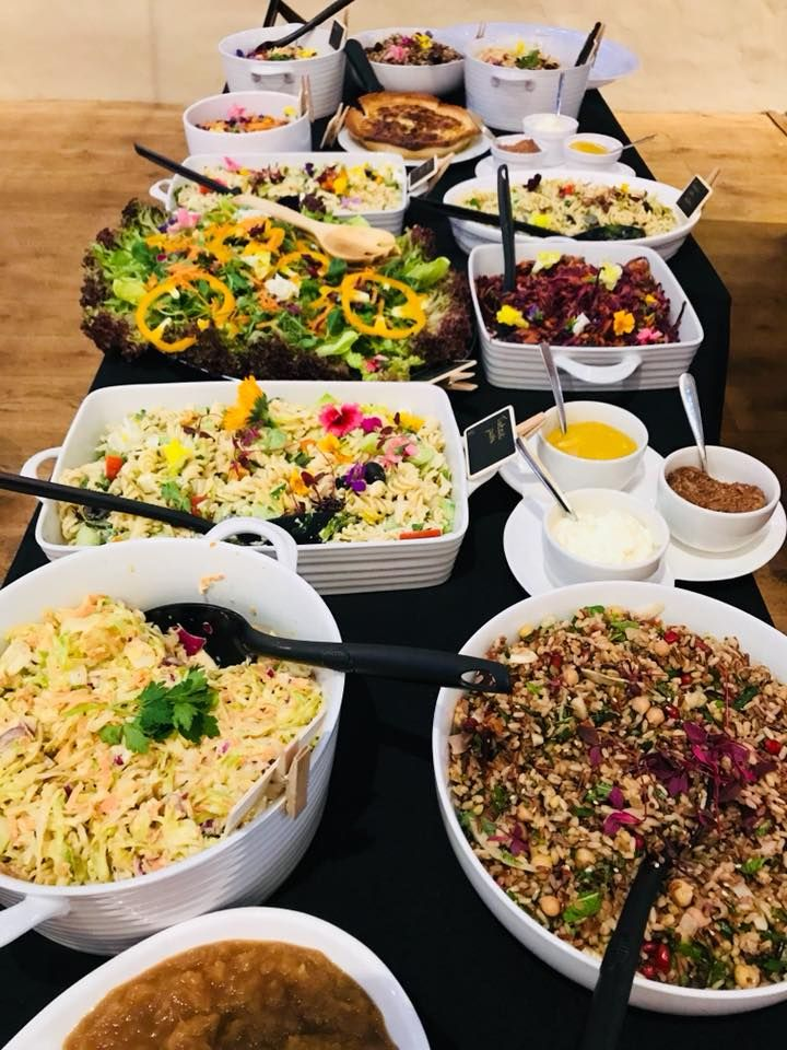 Shropshire Hills Catering homemade salad selection